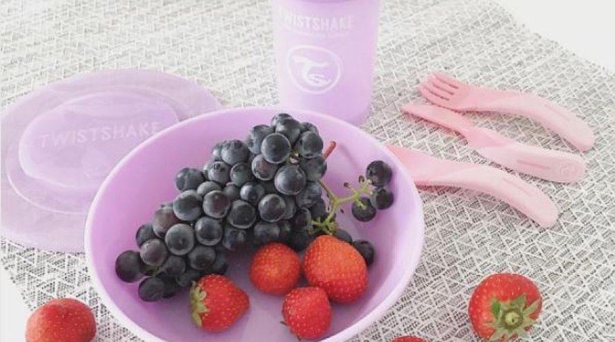 Twistshake® Zdjelica 520ml Pastelno Ljubičasta (6+m)