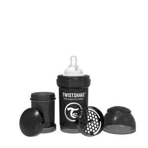 Twistshake® Anti-Colic 180ml Crna