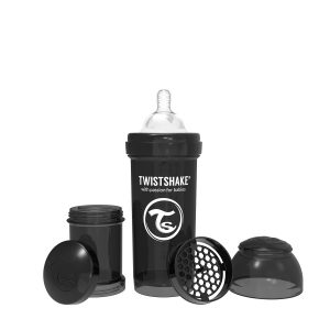 Twistshake® Anti-Colic 260ml Crna