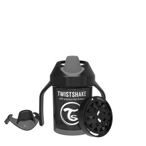 Twistshake® Mini Cup 230ml Crni (4m+)
