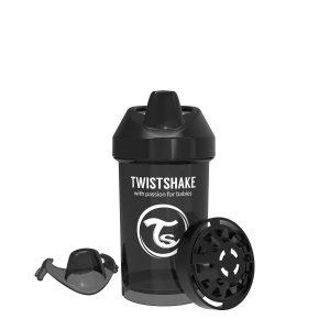 Twistshake® Crawler Cup 300ml Crni (8+m)