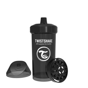 Twistshake® Kid Cup 360ml Crni (12+m)