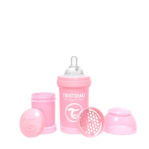 Twistshake® Anti-Colic 180ml Pastelno Roza
