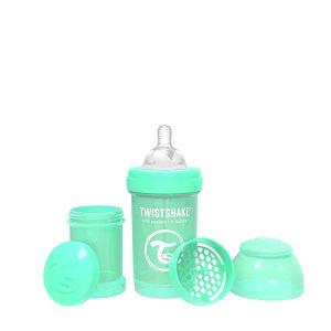 Twistshake® Anti-Colic 180ml Pastelno Zelena