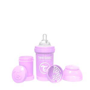 Twistshake® Anti-Colic 180ml Pastelno Ljubičasta