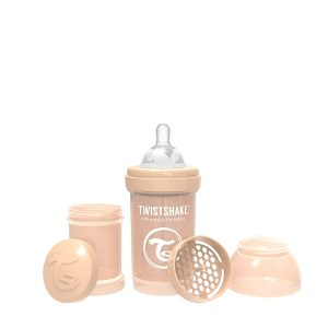 Twistshake® Anti-Colic 180ml Pastelno Bež