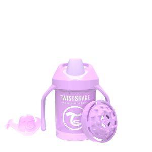 Twistshake® Mini Cup 230ml Pastelno Ljubičasta (4m+)