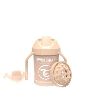 Twistshake® Mini Cup 230ml Pastelno Bež (4m+)