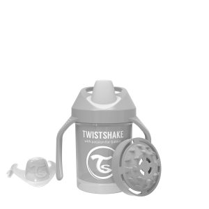 Twistshake® Mini Cup 230ml Pastelno Siva (4m+)