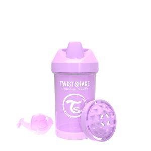 Twistshake® Crawler Cup 300ml Pastelno Ljubičasta (8+m)