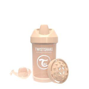 Twistshake® Crawler Cup 300ml Pastelno Bež (8+m)