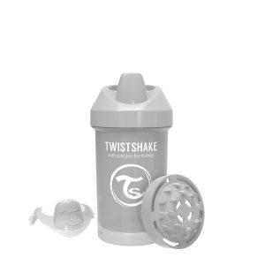 Twistshake® Crawler Cup 300ml Pastelno Siva (8+m)