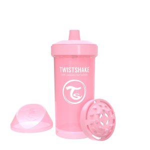 Twistshake® Kid Cup 360ml Pastelno Roza (12+m)