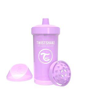 Twistshake® Kid Cup 360ml Pastelno Ljubičasta (12+m)