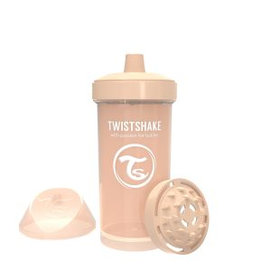 Twistshake® Kid Cup 360ml Bež (12+m)