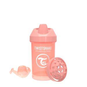 Twistshake® Crawler Cup 300ml Pastelno Narandžasta (8+m)