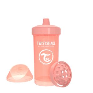 Twistshake® Kid Cup 360ml Pastelno Narandžasta (12+m)