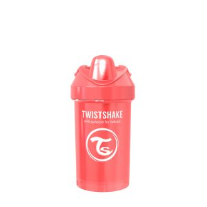 Twistshake® Crawler Cup 300ml Pearl Red (8+m)