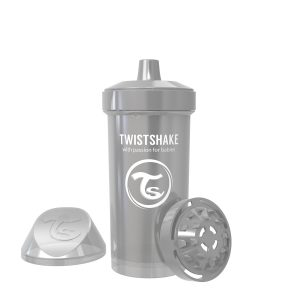 Twistshake® Kid Cup 360ml Pearl Grey (12+m)