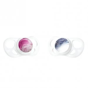 2x Duda Twistshake® Marble Pink Purple 6+