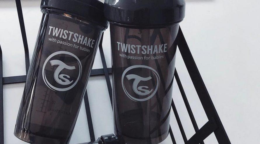 Twistshake® Bočica sa slamkom 360ml (12+m) Plava